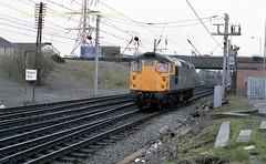 Mossend 26028 29mar89 c092 (Ernies Railway Archive) Tags: mossendyard cr lms scotrail