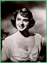 Ingrid Bergman (Truus, Bob & Jan too!) Tags: ingridbergman ingrid bergman swedish actress hollywood star european filmstar cinema movies mgm metrogoldwynmayer picture screen movie film cine kino filmster glamour allure vedette vintage collectors card premium clovis
