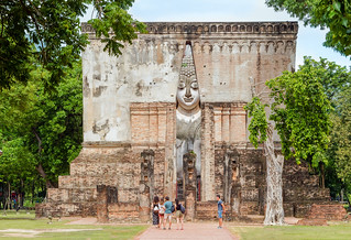 Wat Si Chum..Sukhothaï .Unesco Thaïlande.