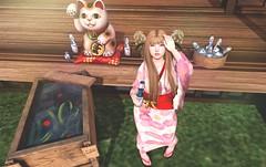 784 (momo Beatty) Tags: japonica silveryk marukado summerfest taikou lootbox sintiklia pinkhustler redeux naminoke mudskin haikei