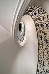 up (the-father) Tags: stair spiral up monastery klaster kloster plasy czechrepublik tschechien handrail