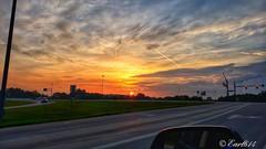 Good morning world! Here's to a better day!! #sunrise #GoodMorningWorld #Columbus #Ohio #fromtheroad #earl614 (Edale614) Tags: earl614 sunrise goodmorningworld fromtheroad columbus ohio