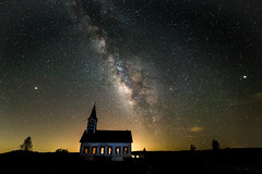 Old Rock church2 (Richard 369) Tags: stars milkyway nightsky ambient church