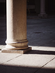 Column | P2251163 (mkreibohm) Tags: schweiz swizerland tessin ticino lugano urban minimal minimalism minimalist closeup architectural architecture city street light shadow moody texture textures stone afternoon sun sunlight warm geometry geometrical geometric olympus olympusomdem1 micro43 microfourthirds