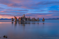 Ghost Ship at Blue Hour (Jeffrey Sullivan) Tags: tufa rock formation calcium carbonate island mono lake south state reserve county california eastern sierra usa landscape nature canon eos 6d night photography workshop photo copyright 2018 jeff sullivan blue hour july