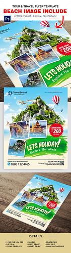 Tour & Travel Flyer