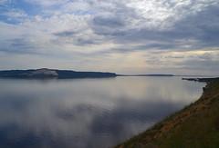 Cloudscape and Volga upstream (МирославСтаменов) Tags: russia togliatti volga river reflection cloudscape overlook slope edge