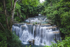 full flowing water (Flutechill) Tags: waterfall nature river forest water tropicalrainforest tree stream beautyinnature scenics freshness thailand outdoors leaf falling greencolor purity landscape flowingwater heaven kanchanaburi kanchanaburiprovince huaymaekhaminwaterfall huaymaekaminwaterfall nationalpark