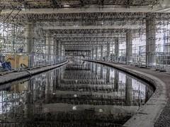 Almost Subterranean (Jason_Hood) Tags: concrete scaffolding