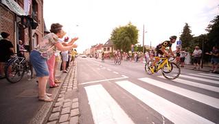 Le Tour de France passe à Amiens