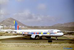 AIR 2000 A321 G-OOAH (Adrian.Kissane) Tags: 781 lanzarote a321 air2000 gooah