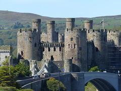 Conwy Castle, Wales, England (Mutnedjmet) Tags: england wales conwy burg castle mittelalter ruine grafschaftgwynedd