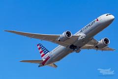 N825AA AA B789 34L YSSY-3091 (A u s s i e P o m m) Tags: americanairlines american aa boeing b789 dreamliner syd yssy sydneyairport