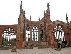 Coventry Cathedral (AnthonyR2010) Tags: coventry warwickshire cathedral church stmichael coventrycathedral architecture gradeilistedbuilding ebb medieval wwii