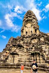 Angkor Wat Cambodia -42a (Yasu Torigoe) Tags: sony a99ii a99m2 sonyilca99m2 camboya cambodia angkor siem templo temple khmer architecture ancient ruins stonework siemreap history histoire building carving art surreal sculpture structure travel archeology thebestshot flickr best buddha buddhist hindu shiva devatas deity