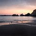 Before The Dark (Sarah_Brooks) Tags: seascape seagulls sea landscape devon summer sunset waterscape water rocks cliffs