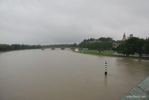 Річка Рона, Авіньйон, Прованс, Франція InterNetri.Net France 1452