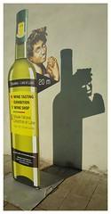 Shadow (S.R.Murphy) Tags: samsunggalaxys6 urbanlandscape shadow wine bratislava