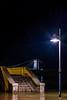 RIO EBRO (juan carlos luna monfort) Tags: amposta riuebre desbordat escaleras farola puente pont nocturno night largaexposicion nikond7200 sigma1750 calma paz tranquilidad