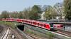 New Kid in Town (horstebertde) Tags: sbahnhamburg 490 probefahrt eisenbahn hamburg deutschland de sbahn emu thirdrail