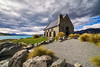Clouds over Church of the Good Shepard (jenkwang) Tags: pentax k1 new zealand tekapo lake church good shepard samyang 1428 14mm f28 landscape places clouds sky travel cycling tour