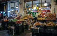 Fruit shop in Tehran,  Iran (Ninara) Tags: tehran mountains alborzmountains alborz shop fruitshop evening