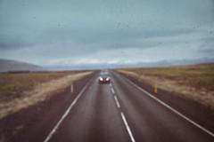 Road 365 (pni) Tags: through stg road car headlamp light blur sky cloud view landscape road365 frombuswindow is18 iceland ísland pekkanikrus skrubu pni lyngdalsheiðarvegur