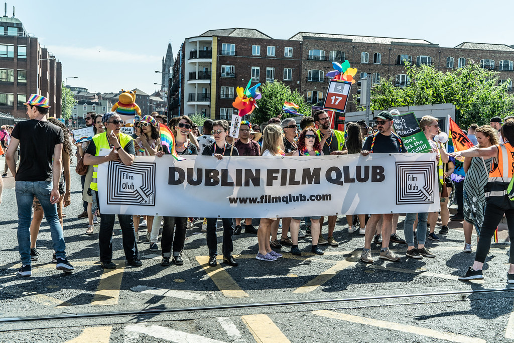 ABOUT SIXTY THOUSAND TOOK PART IN THE DUBLIN LGBTI+ PARADE TODAY[ SATURDAY 30 JUNE 2018] X-100101