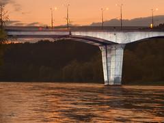 Bridge on the river Neman, Belarus (Koos Fernhout) Tags: grodno hrodna belarus belorussia