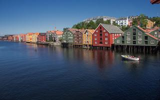 Bakklandet, Trondheim @ Norway 2018