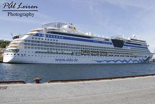 AIDA Cruises - AIDAsol - Stavanger Harbour - 2017.07.07