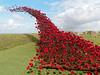 Poppy sculpture at Fort Nelson (martin_swatton) Tags: poppy sculpture fort nelson portsmouth fareham hampshire uk olympus omd em1 mkii mzuiko 1240 28 pro