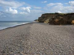 The coast west of Sheringham (JonCombe) Tags: norfolk coastwalk208 sheringham cromer salthouse coast path england norfolkcoastpath englandcoastpath