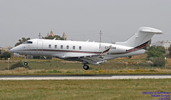 CS-CHG LMML 17-04-2018 (Burmarrad (Mark) Camenzuli Thank you for the 11.6) Tags: airline netjets europe aircraft bombardier bd1001a10 challenger 350 registration cschg cn 20699 lmml 17042018