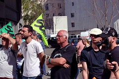 (O Phil des Contrastes) Tags: sncf grève macron gare du nord cheminots lutte demonstration strike street art rail workers sud cgt fo pepy spinetta solidarité assemblée