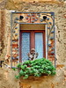 Guardian Angel (gerard eder) Tags: world travel reise viajes europa europe italy italia italien tuscany toscana toskana pienza windows fenster ventanas outdoor oldcity village architecture architektur arquitectura deco