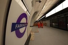 Farringdon_Elizabeth_Line_150618_1357_hi (Chris Constantine UK) Tags: crossrail tube london underground construction metro elizabeth farringdon