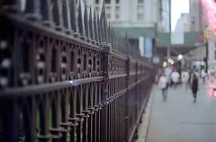 church fence (zenopox) Tags: 35mm film analog soysauce buffalosauce fooddye dye filmisnotdead ny nyc