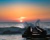 Splash (jn3va) Tags: de beach sunrise usa ocean waves splash jetty rehoboth breaker cold