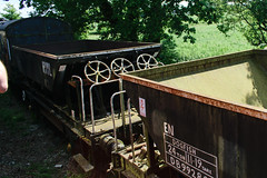 992867 Swindon & Cricklade Railway 030618 (Dan86401) Tags: scr swindoncrickladerailway 992867 db992867 zfv dogfish fishkind br open ballast hopper wagon freight hopperwagon infrastructure engineers departmental civilengineer