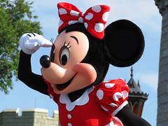 Minnie Mouse (meeko_) Tags: minnie mouse minniemouse characters disneycharacters let begin letthemagicbegin show entertainment castleforecourtstage fantasyland magic kingdom magickingdom themepark walt disney world waltdisneyworld florida