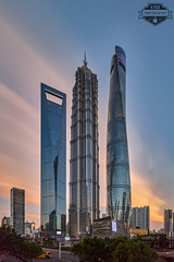 Shanghai Pudong CBD Sunset Small MARKED - 15-Jul-2018 (f/13 photography) Tags: shanghai pudong lujiazui skyline cityscape pearl tower cbd sunrise sunset long exposure