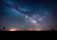 Signposts to the Stars, Monument Valley, Arizona (diana_robinson) Tags: signposts stars nightphotography nightsky monumentvalley arizona