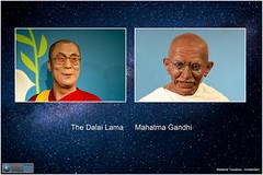 miscellaneous010 (fotoWS5720) Tags: tussauds madame tussaud wassenbeeldenmuseum amsterdam wax figure gandhi india dalailama tibet