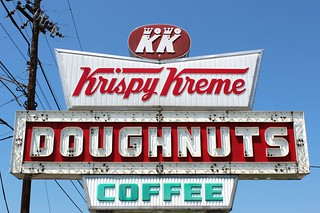 Krispy Kreme Doughnuts Coffee