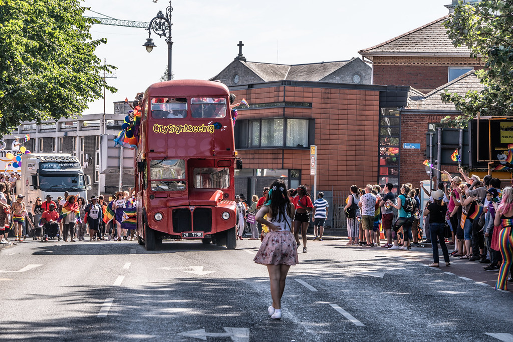 ABOUT SIXTY THOUSAND TOOK PART IN THE DUBLIN LGBTI+ PARADE TODAY[ SATURDAY 30 JUNE 2018] X-100144