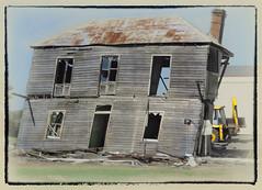 Not much longer ... (boeckli) Tags: googlenik abandoned derelict barn country wood wooden rust old alt verfallen baufällig ruine newsouthwales australia windows window decayabandoned crazytuesdaytheme 7dwf verlassen verfall dwwg
