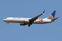 B737-9.N66837 (Airliners) Tags: ual united unitedairlines 737 b737 b7379 b737900 b737ng boeing boeing737 boeing737900 specialolympics 50thanniversaryspecialolympics speciallivery specialcs iad n66837 7418