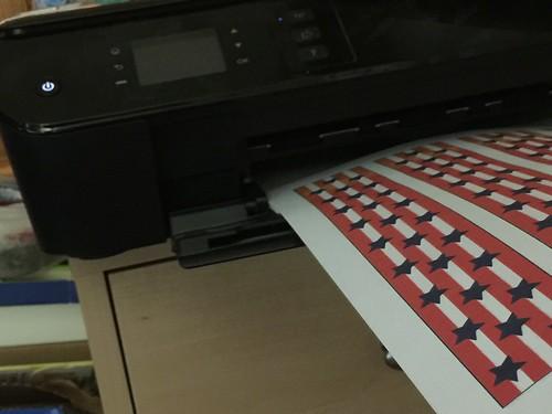 printing napkin bands