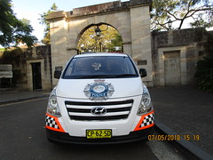 An AFP vehicle (RubyGoes) Tags: australia sydney nsw paddington